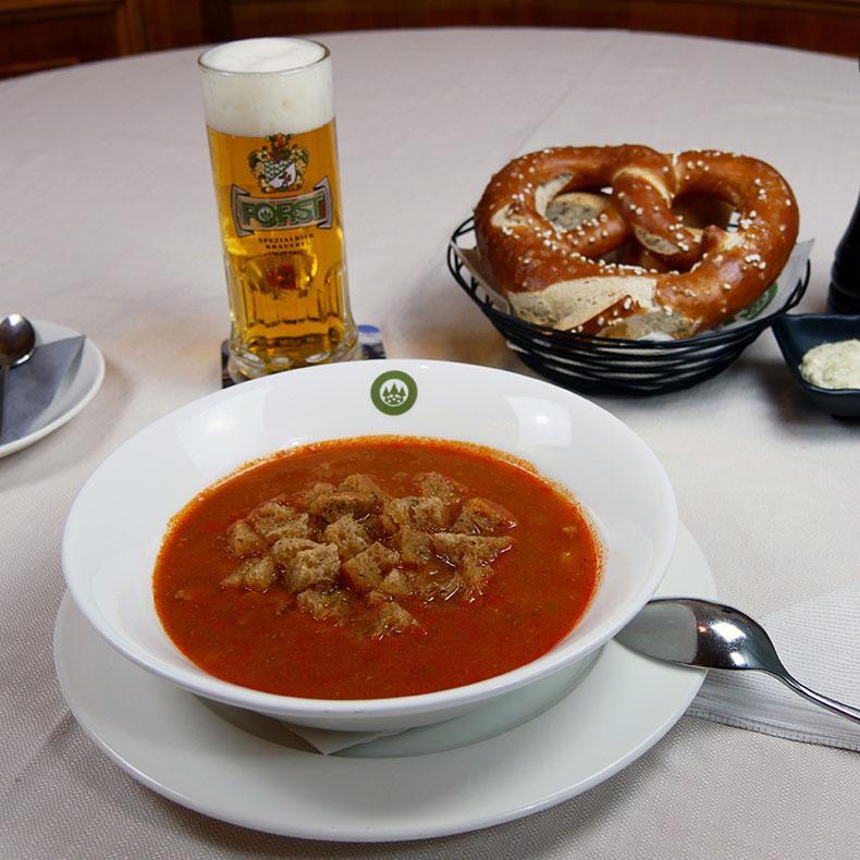 La gulaschsuppe